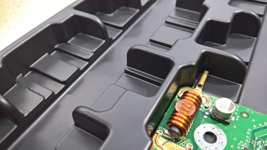 Blister para placas eletrónicas
